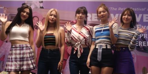 Red Velvet Sapa Fan di 'The ReVe Festival' Jakarta