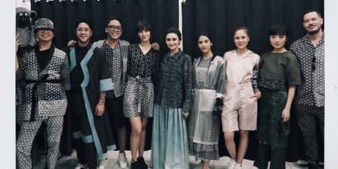 Riuhnya Pesta Akhir Tahun Bersama Populo Batik