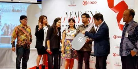 SOGO Persembahkan Honda Accord Bagi Pelanggan Setianya