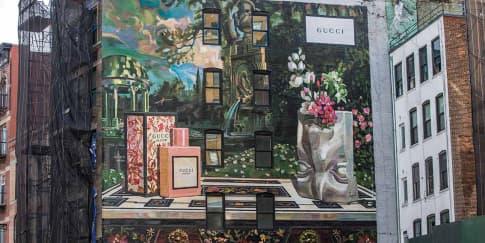 Seni Mural dari Gucci untuk Rayakan Kehadiran Bloom