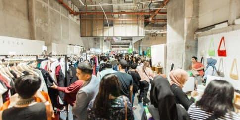 Serunya Kolaborasi Kreatif di Brightspot Market 2018