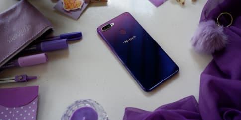 Setelah Merah dan Biru, Oppo Rilis 'F9 Starry Purple'