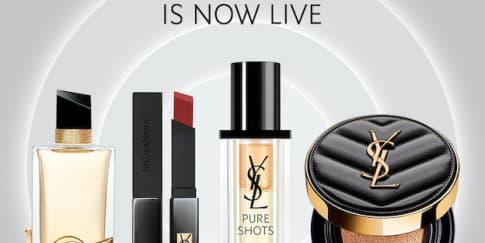 YSL Beauty Resmi Hadirkan Official Online Store