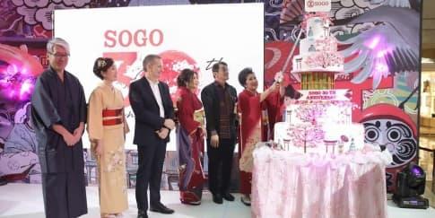Sogo Department Store Rayakan Ulang Tahun Ke-30