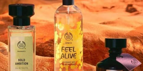 Aroma Unik Dari Koleksi The Body Shop Scents Of Life Terbaru