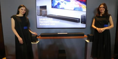 Terobosan Speaker Samsung Harman Kardon 'Soundbar Q90R'