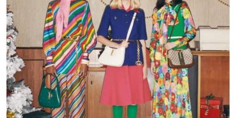 Gucci Merayakan Kemeriahan Akhir Tahun Bernuansa 90an