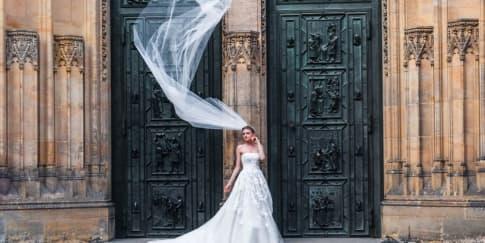 Tipe Wedding Veil yang Cocok Dengan Jenis Gaun Anda