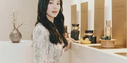 Tips Wajah Glowing a la Song Hye-Kyo