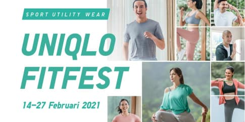 Uniqlo Fitfest : The Biggest Online Workout Festival 2021