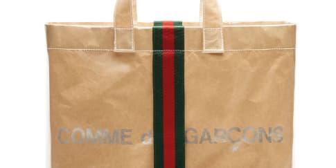 Wajib Punya: Tas 'Shopper' Gucci x Comme des Garçons