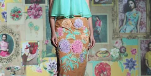 Warna-Warni Koleksi 'Peranakan Legacy' Karya Jeanny Ang