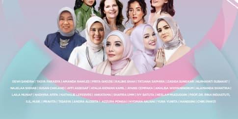 'Wardah Beauty Fest' Ajak Perempuan Tetap Semangat Berkarya
