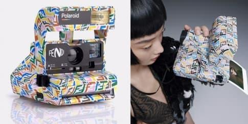 Kolaborasi FENDI x POLAROID Hadirkan Kamera Multiwarna