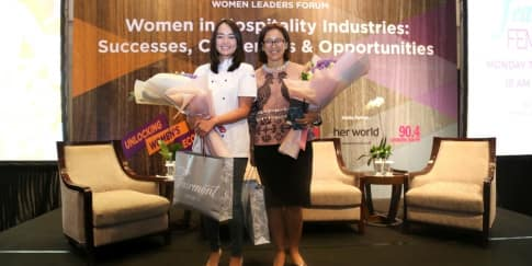 'Women Leaders Forum': Perempuan di Industri Perhotelan