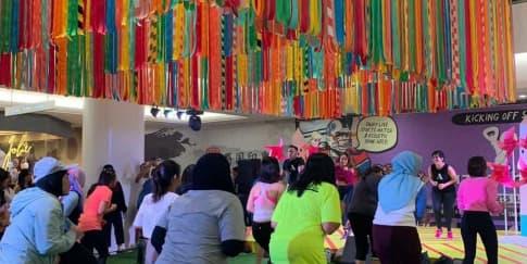 'Zumba for Hope', Aksi Amal Sembari Berolahraga