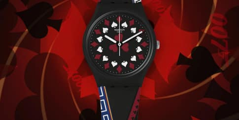 Wajib Punya: Jam Tangan 'James Bond' Swatch