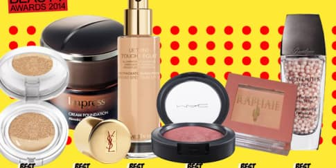 Make-Up Category Winners her world Beauty Awards 2014