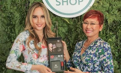 Cinta Laura Menjadi Brand Ambassador The Body Shop®