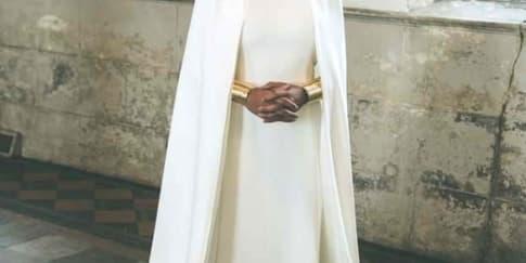 Detil Gaun Pernikahan Solange Knowles