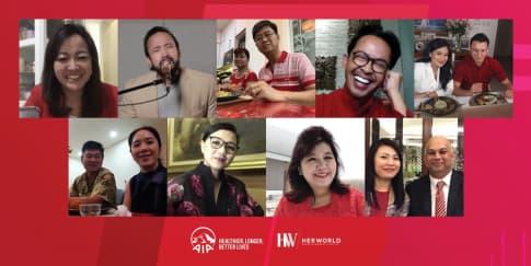 Virtual Dinner Apresiasi AIA Untuk Agen dan Nasabah