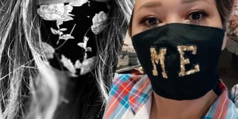 Gaya 14 Selebriti Indonesia Saat Pakai Masker Kain