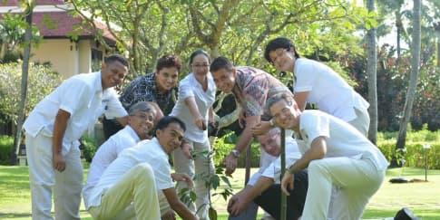 Uniknya Taman Botani di Intercontinental Bali
