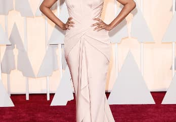 We Love: Zoe Saldana Academy Awards 2015 Red Carpet