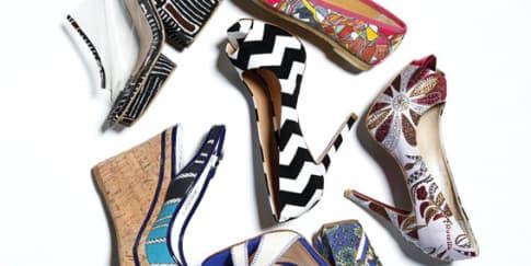 Rangkaian Sepatu Print