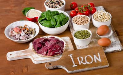 6 Makanan Sumber Zat Besi Pencegah Anemia