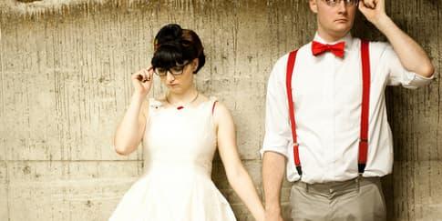 Model Kacamata untuk Mempelai Wanita