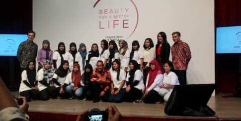 Program Pendidikan Tata Rambut L'Oreal untuk Perempuan Indonesia