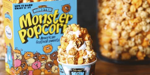 Es Krim Popcorn Sweet Monster Kini Hadir di Jakarta