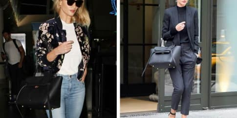 Spotted: Rosie Huntington-Whiteley Mengenakan Celine
