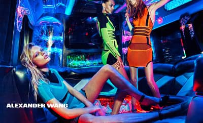 Pesta Neon Alexander Wang Spring/Summer 2015