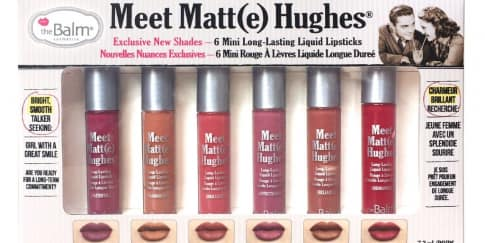 The Balm Luncurkan Meet Matt(e) Hughes® Mini Kit