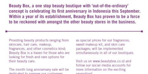Belanja Hemat di Beauty Box