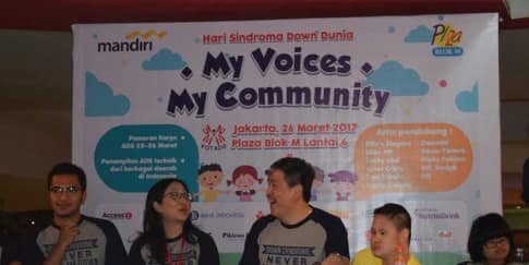 Partisipasi Bank Mayora Kepada Hari Sindroma Down Dunia