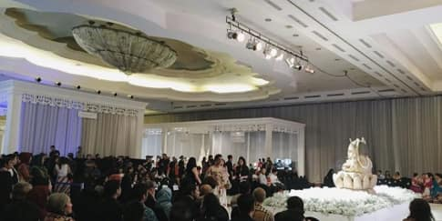 Meriahnya Acara Pembukaan Shades of Luxury Wedding Fair
