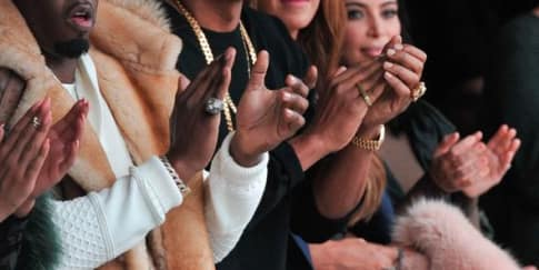 Front Row Penuh Bintang untuk Kanye West x Adidas Originals