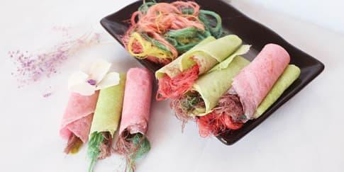 Makanan Serba Rainbow di Asia