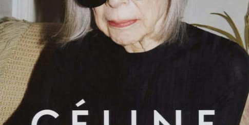 Seorang Nenek Didaulat Tampil Sebagai Model untuk Celine