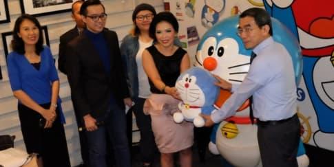 Bergembira Bersama Keluarga di Pameran Doraemon
