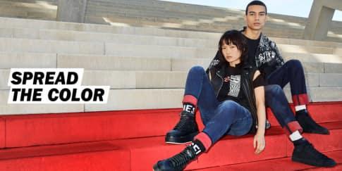 Sentuhan Warna Berani Di Koleksi Celana Jeans Terbaru Diesel