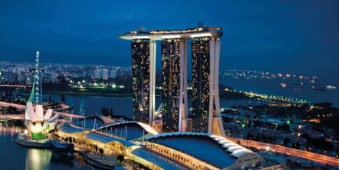 Rayakan Libur Natal dan Tahun Baru di Marina Bay Sands