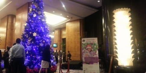 Menyambut Natal di InterContinental Jakarta