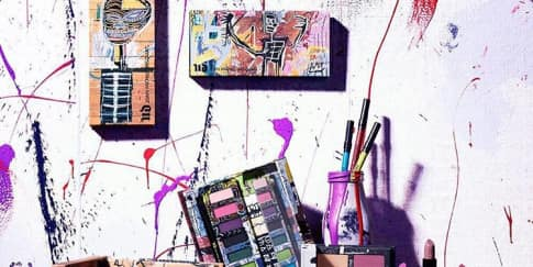 Kolaborasi Urban Decay dengan Jean-Michel Basquiat