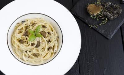 Cara Membuat Spaghetti Dengan Truffle