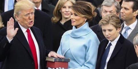 Fakta Menarik Inagurasi Presiden AS Donald Trump