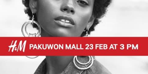 H&M Akhirnya Hadir di Surabaya